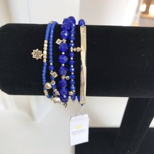 Kendra Scott Supak Bracelets. New with Tags. Blue